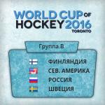 группа B Кубка Мира по хоккею
