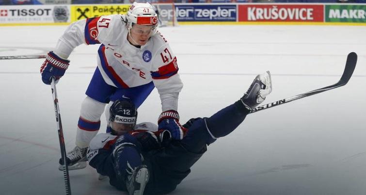 хоккеисты Словакии