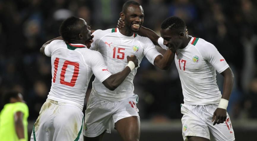 футболисты Сенегала