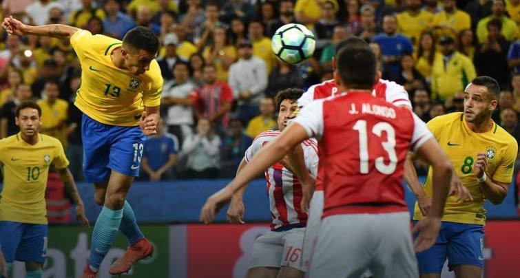 футболисты Бразилии