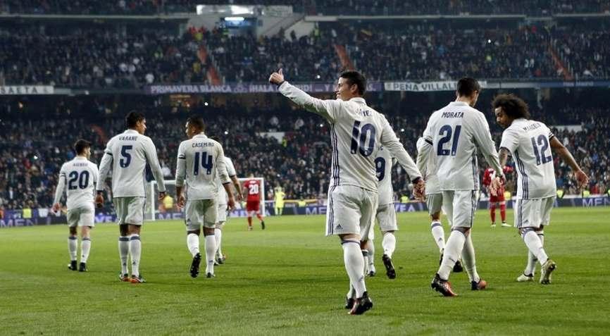 футболисты Реал Мадрид