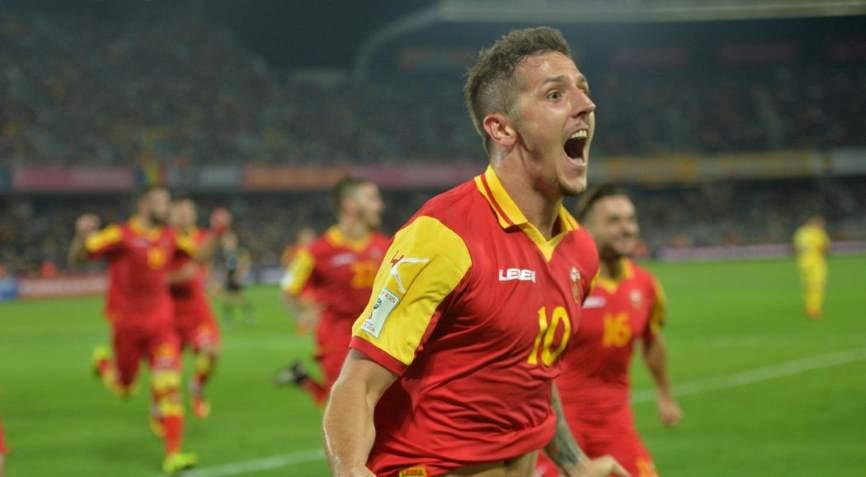футболисты Черногории