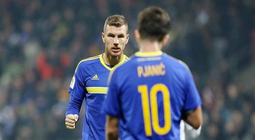 футболисты Боснии