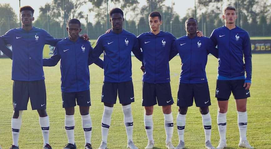 футболисты Франции