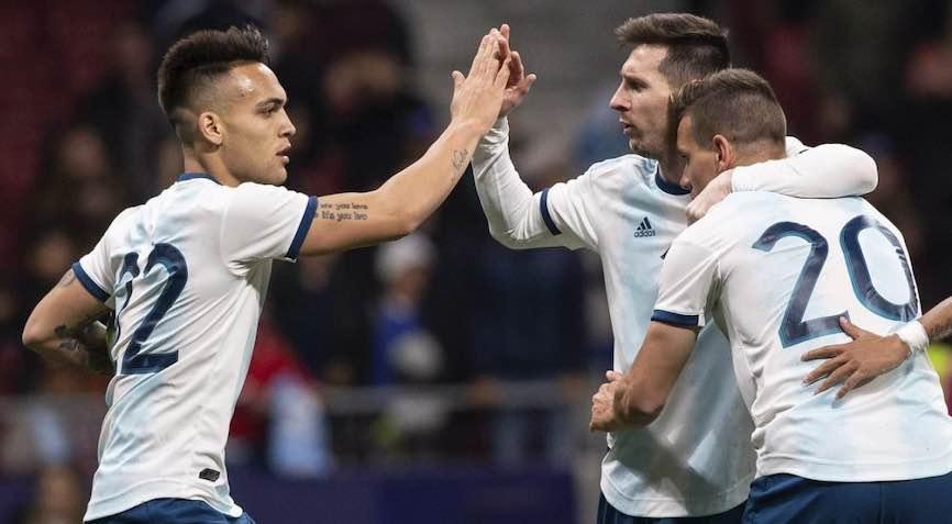 футболисты Аргентины