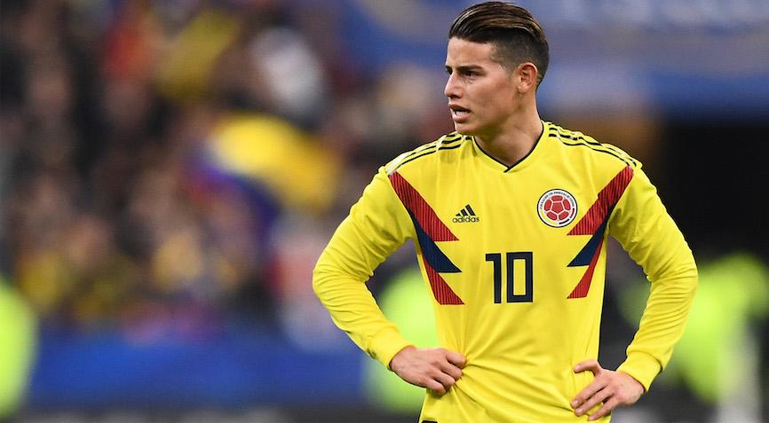 футболист Колумбии