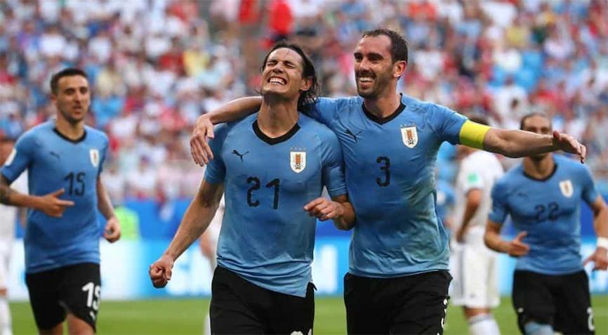 футболисты уругвая