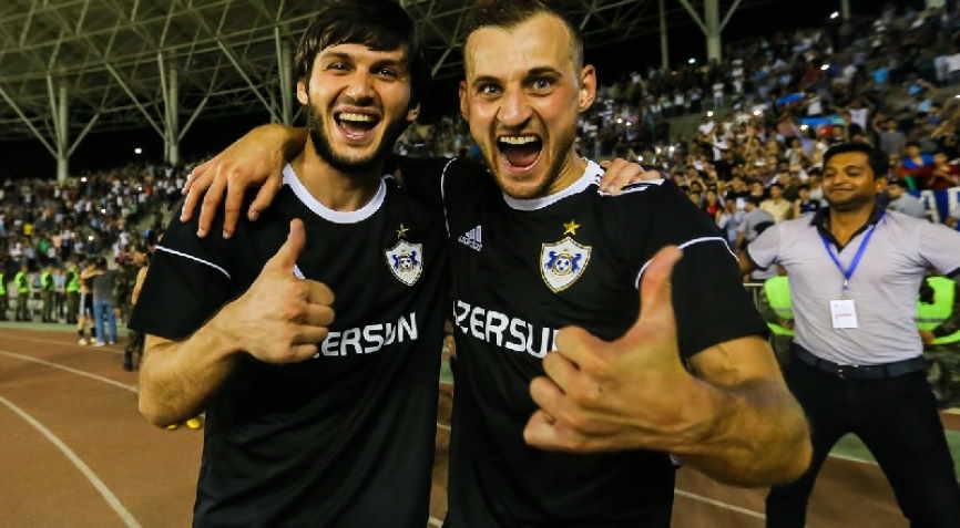 футболисты Карабаха