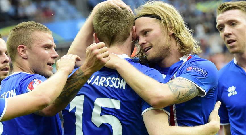 футболисты Исландии