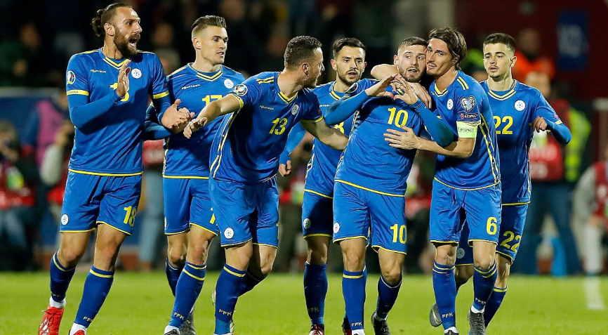 футболисты Косово