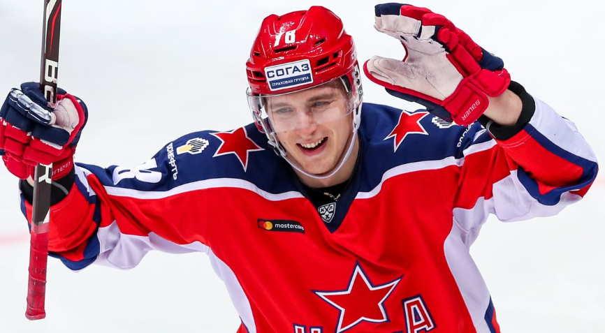 хоккеист ЦСКА