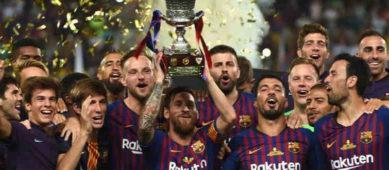 Жеребьевка полуфинала Суперкубка Испании