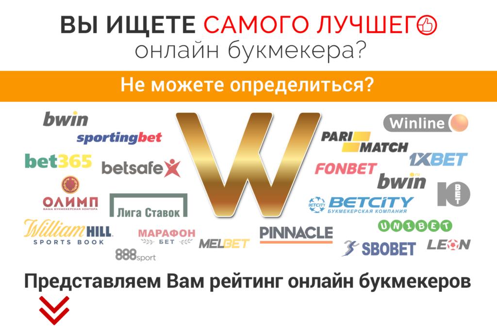 рейтинг букмекеров контор в россии