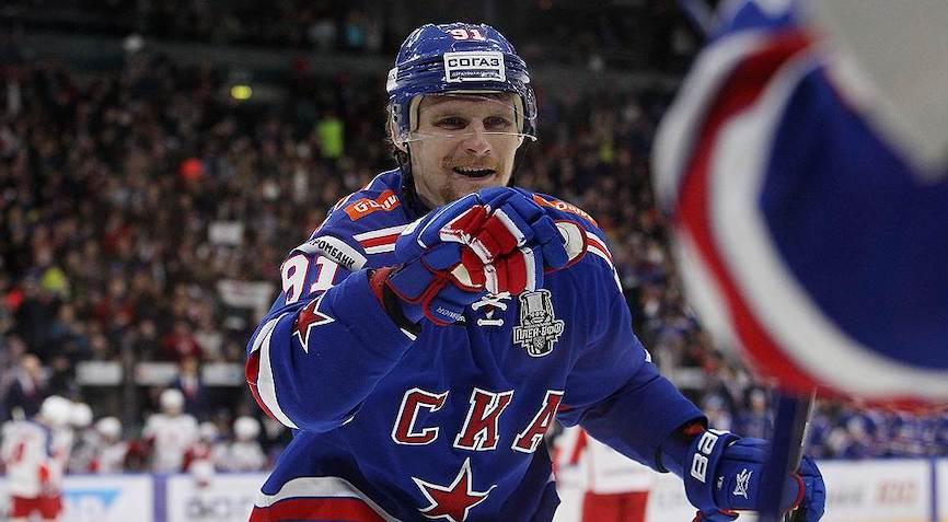 хоккеист СКА
