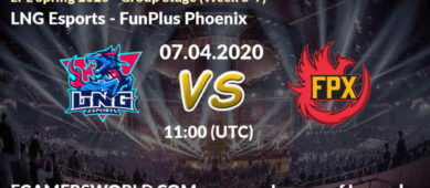 LNG Esports – FunPlus Phoenix
