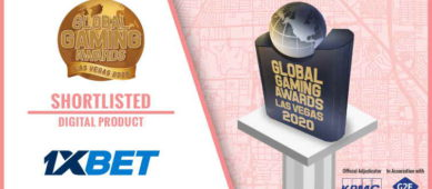 1xBet вошла в шорт-лист игровой премии Global Gaming Awards
