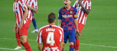 Глупые ошибки и пропуск суперкубка: «Барселона» продула «Атлетико» со счетом 2:3