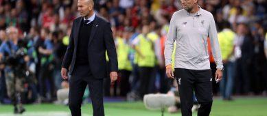 Накануне противостояния Ливерпуль-Реал Клопп и Зидан дают установки подопечным