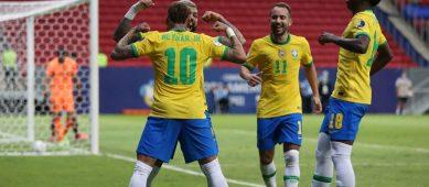 Бразилия переиграла Венесуэлу в матче открытия Кубка Америки